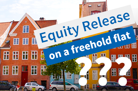 Can you get equity release on a freehold flat?