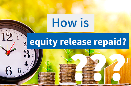 How does equity release get paid back?