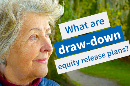 What are draw-down equity release plans?