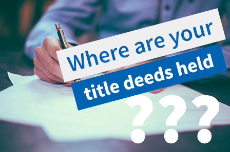 Who holds the property Title Deeds with an Equity Release plan?